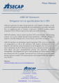 ASECAP Press Release on C-ITS Delegated Act